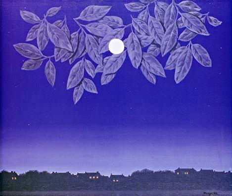 La page blanche par le Peintre René Magrite - 1967
